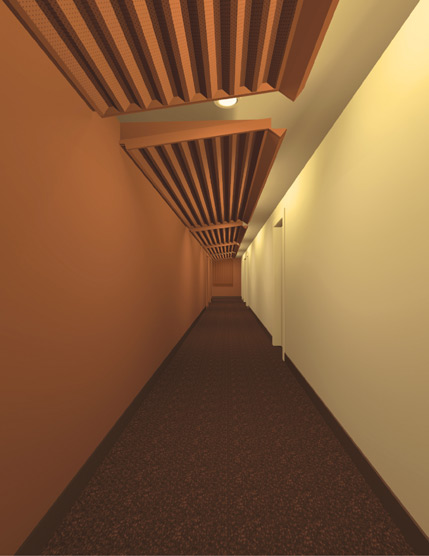 Barton Phelps & Associates - High-Rise Condominium Hallway Study