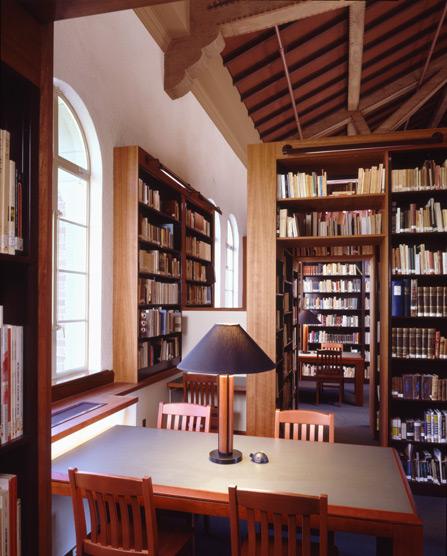 Barton Phelps & Associates - Humanities Reading Room Restoration / Retrofit: UCLA