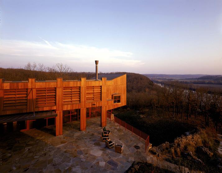 Barton Phelps & Associates - River House Retreat Facility
